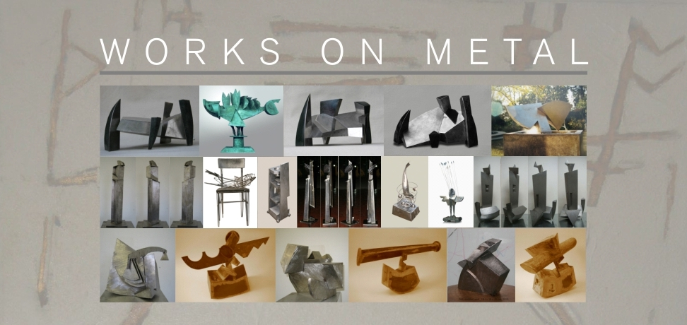 Sculptures - Works on Metal